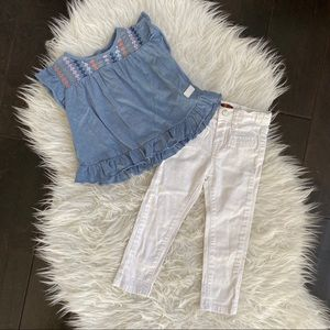 7 for all Mankind Skinny Jeans Matching Set